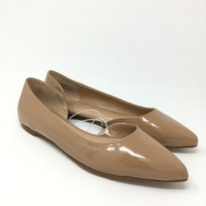 Shoes - NWOT Mossimo Nude Pointed Toe Flats